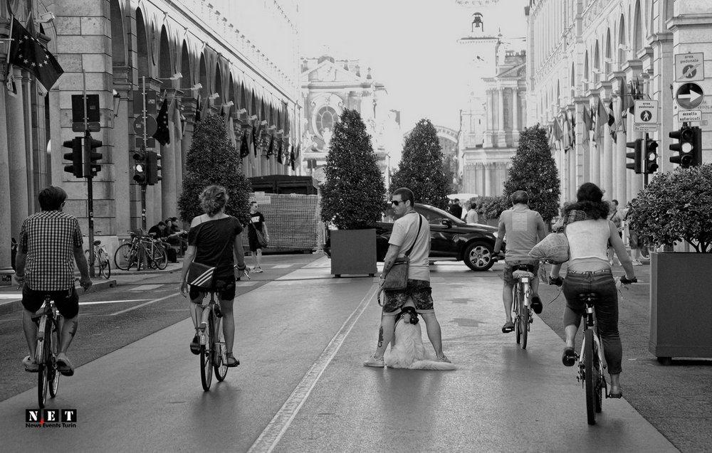 Уличная фотография из города Турин Пьемонт Италия