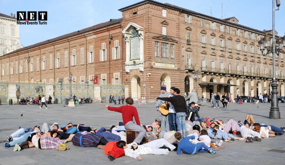 Уличная фотография Италия Турин март 2014