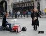 Турин уличный рок в центре города