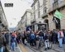 Манифестации молодежи против закрытия дискотеки в Турине