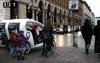 Рикша Турин рекламная акция на улице Рома