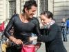 Уличные артисты Турин Италия