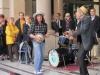 Уличные музыканты Турина