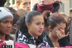 Студенты стычки с полицией