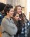 Studenti in piazza, subito scontri: agente rischia il linciaggio