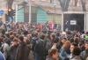 Tensione al corteo degli studenti Scontri tra manifestanti e polizia