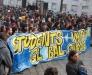 Contro l'austerity imposta dal governo, ma anche contro il sistema politico