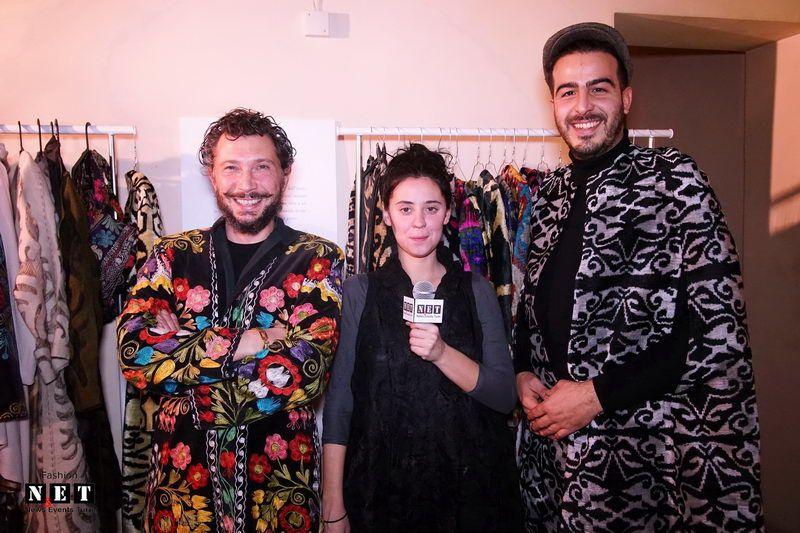 Узбекские модели в Турине участники недели моды в Ташкенте