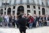 Torino piazza Castello clown