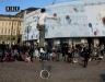 Уличный акробат Турин