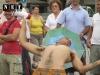 Уличные артисты Италии Турин