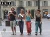 Туристы в городе Турин