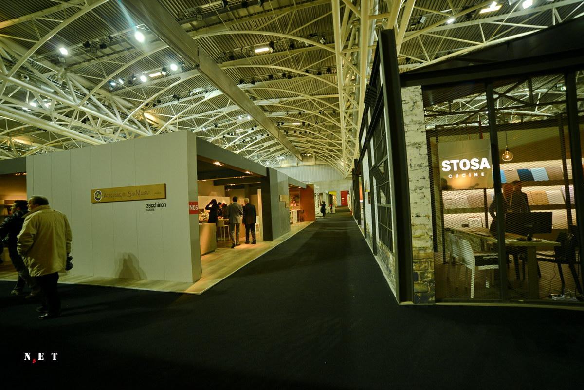 Новое помещение выставки в Турине
