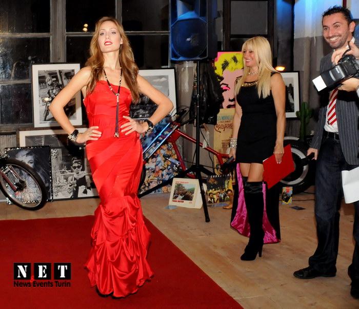 Torino - New York Mella Eleonora modella