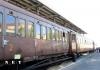 Ретро железнодорожный вагон италия