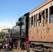 Турин выставка старинных паровозов и вагонов Италия