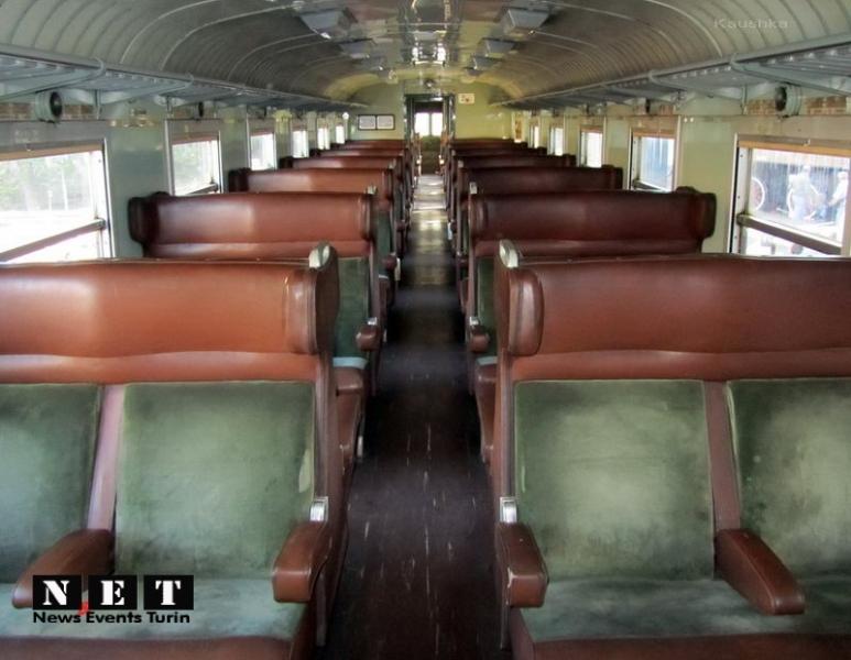 Старинные итальянские салоны железнодорожных вагонов