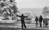 nevica scuola torino пешеходный переход Турин