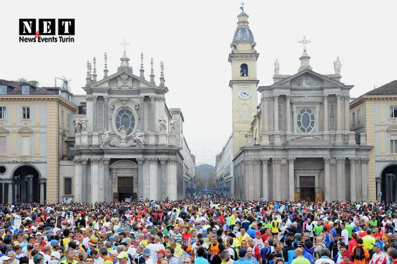 Турин Италия марафон