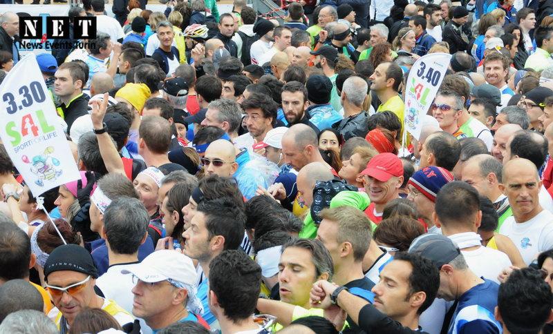 Спорт в Турине - Туринский Марафон в Италии Пьемонт