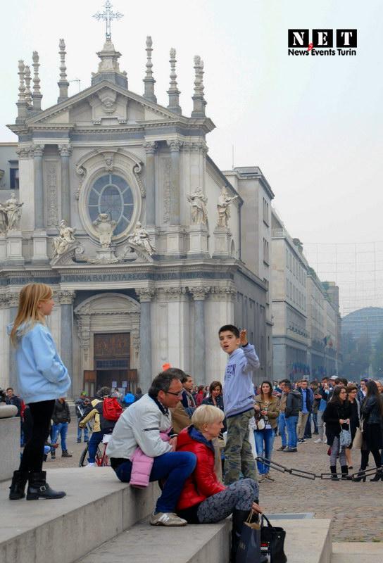 Street Photography Torino piazza San Carlo ottobre 2013