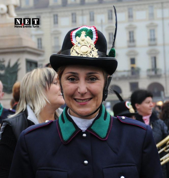 Итальянка в военной форме