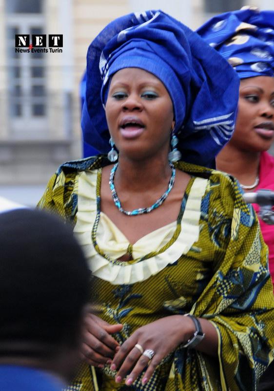 Африканские женщины в Италии