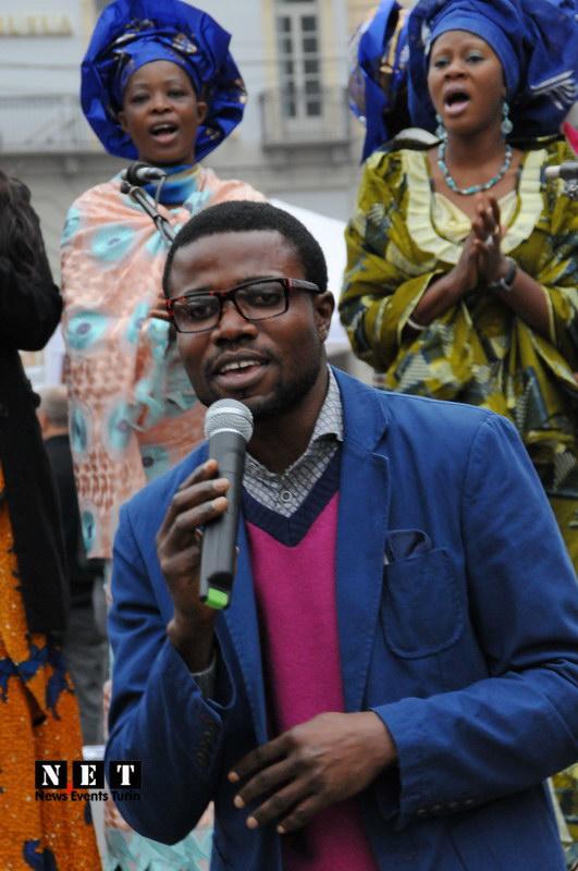 Африканские песни в Турине