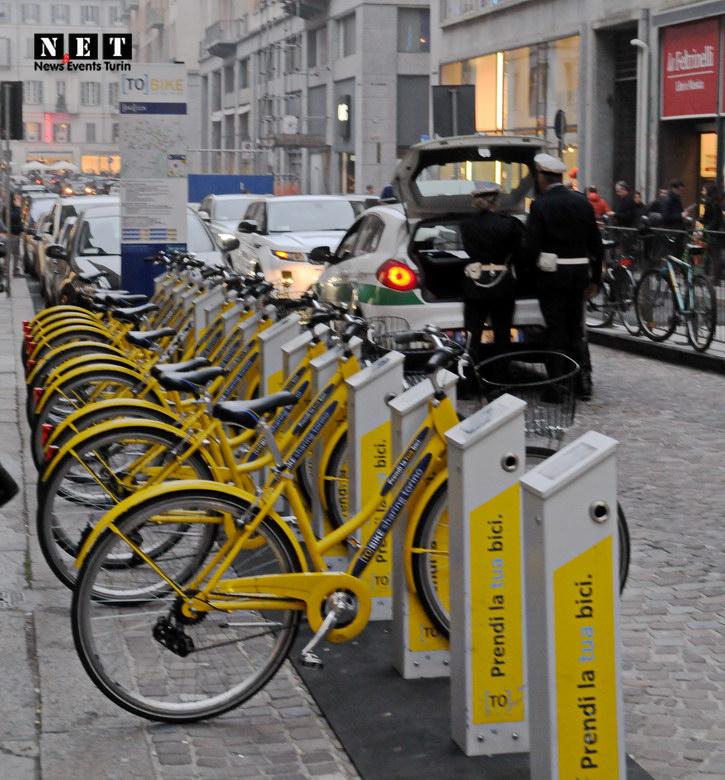 Street Photography Torino To Bike