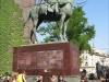 Памятник в центре Турина