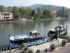 Прогулочный корабль на реке По Турин
