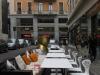 Турин бар на via Langrange торговая улица в Турине