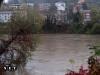 Alluvione Torino fiume Po in piena
