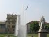 la fontana con due colombi