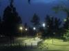 Ночной парк Турина