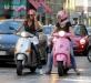 Итальянки на моторолерах