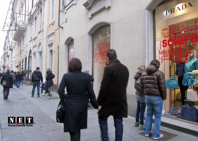 Шоппинг в Турине стал намного комфортный чем в Милане