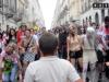зомби моб шествие по улицам Италии