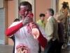 Злобный кровожадный зомби