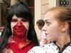 Le ragazze in Zombie Walk turin