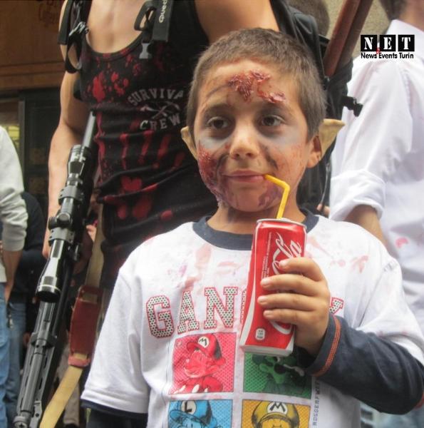 Bambino Zombie Torino