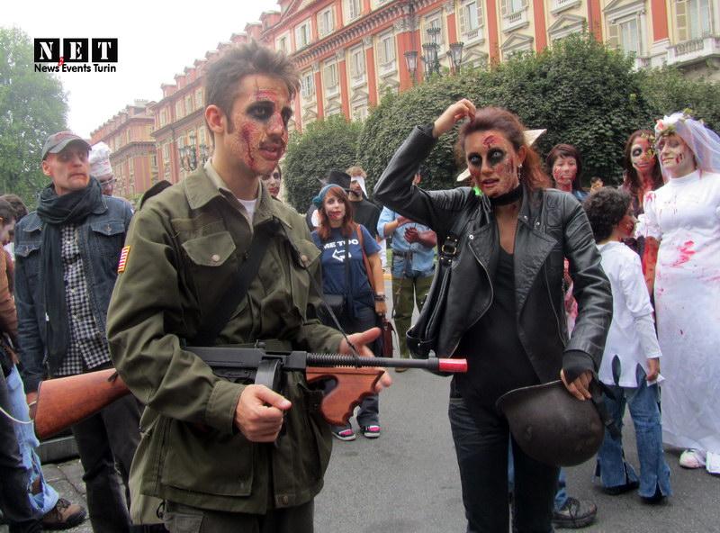 Zombie militare Torino