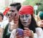 A zombie walk is a public gathering
