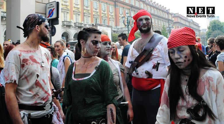Zombie walk is, in essence
