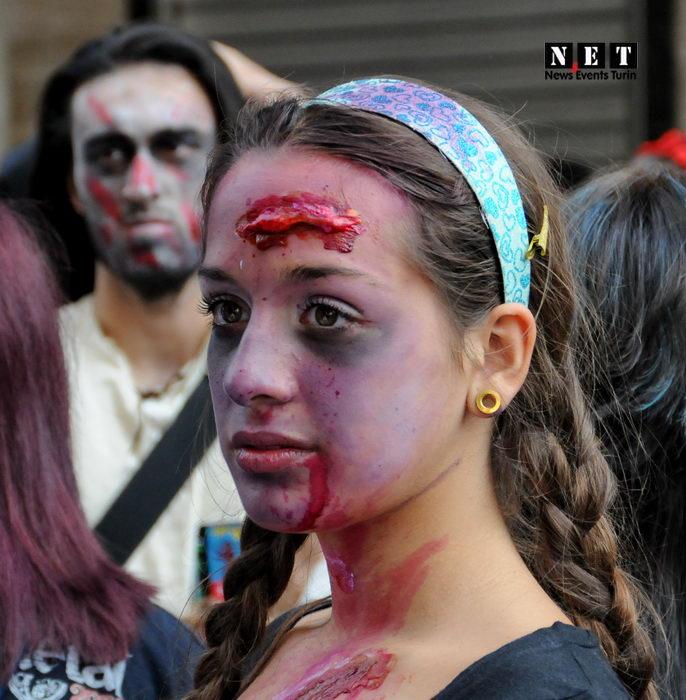 Ragazza Zombie Torino