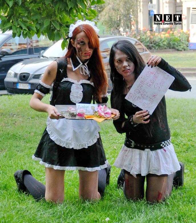 Due ragazze Zombie torino
