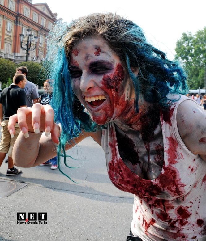 The Zombie Walk Italy Turin