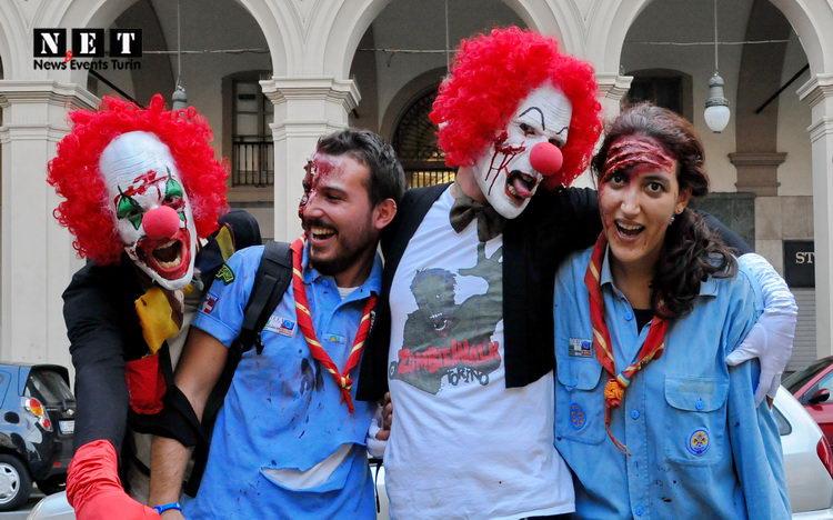 Clown Zombie Walk Torino 2013