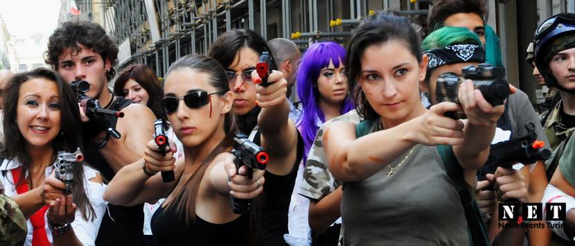 La guerra con le zombie torino