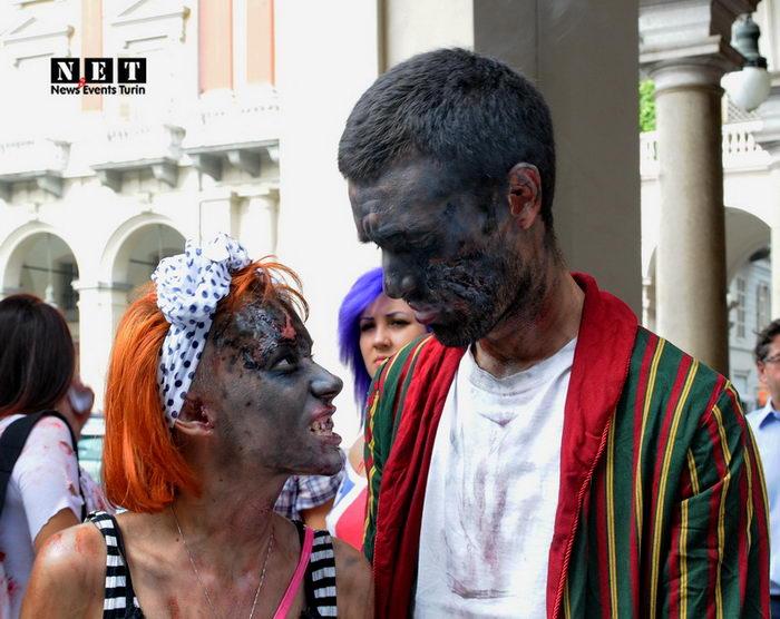 Парад Зомби Турин иТалия